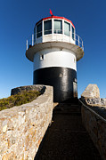 Cape Metal Prints - Cape Point lighthouse Metal Print by Fabrizio Troiani