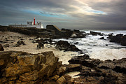 Light House Photo Posters - Cape Raso Poster by Carlos Caetano