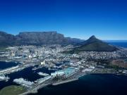 Kapa Prints - Cape Town Bird Eye View Print by Phil Stone