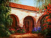 San Juan Paintings - Capistrano by Gail Salituri