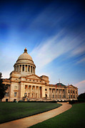 Arkansas Photo Posters - Capitol Poster by CWellsPhotography