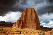 Southern Utah Prints - Capitol Reef National  Park Cathedral Valley Print by Mark Smith