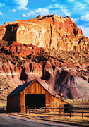 Pioneer Park Prints - Capitol Reef National Park UT Print by Utah Images