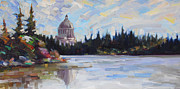Politics Paintings - Capitol Reflections by Gregg Caudell