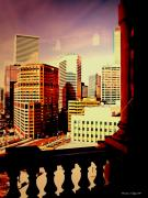 Denver Framed Prints - Capitol View Framed Print by Christine Zipps