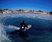 Longboard Originals - Capitola Village by Nick Borelli