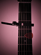Acoustic Guitar Digital Art - Capo by Bill Cannon