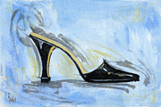 Shoe Paintings - Capri by Richard De Wolfe
