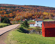 Capstick Photos - Capstick Village on Cape Breton Island by George Cousins