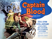 Pirate Ship Posters - Captain Blood, Olivia De Havilland Poster by Everett