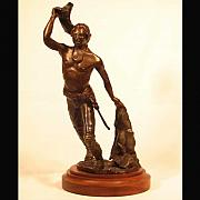 Featured Sculpture Originals - Captain De Beaujeu by Bryan Rapp