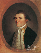 1779 Posters - Captain James Cook, English Explorer Poster by Photo Researchers
