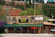 Bar Photos - Captain Rons Rodeo Bar WY by Susanne Van Hulst