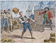 Throw Posters - Captain William Kidd Poster by Granger