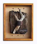 Wood Wall Hanging Framed Prints - Captive Framed Print by Snake Jagger