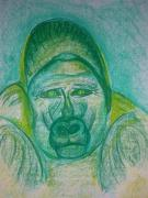 Sad Pastels Originals - Captivity by Janique Camp