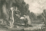 Betrayal Prints - Capture Of Major John Andre, 1780 Print by Photo Researchers