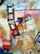 Film Camera Mixed Media Prints - Capture the Moment Print by Cheryl Ehlers