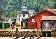 Docks Photos - Car - Wagon - Mystic CT - Life at Mystic by Mike Savad