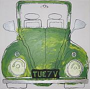 Vw Beetle Originals - Car 10 by Soraya Wallace