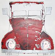 Vw Beetle Originals - Car 11 by Soraya Wallace