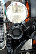 Old Auto Headlamps Framed Prints - Car 216 Framed Print by Joyce StJames