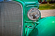 High Dynamic Range Framed Prints - Car no.10 Framed Print by Niels Nielsen