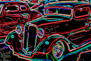 Zz Top Posters - Car Show Poster by Mike OBrien