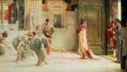 Slaves Painting Metal Prints - Caracalla Metal Print by Sir Lawrence Alma-Tadema
