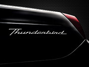 T-bird Posters - Carbon Black Thunder Poster by Douglas Pittman