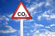 Carbon Dioxide And Global Warming Print by Victor De Schwanberg
