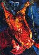 Carcass Of Beef Print by Pg Reproductions