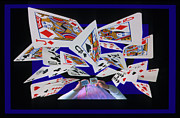 Tricks Photo Framed Prints - Card Tricks Framed Print by Bob Christopher