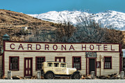 Nz Prints - Cardrona Hotel  Print by Barry Teutenberg
