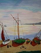 Bill Hubbard - Careening Fishing Boats
