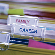 Labelling Posters - Career Before Family Poster by Tek Image