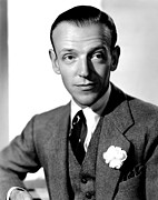 Colbw Acrylic Prints - Carefree, Fred Astaire, 1938 Acrylic Print by Everett