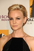 Beverly Hilton Hotel Posters - Carey Mulligan At Arrivals For 15th Poster by Everett