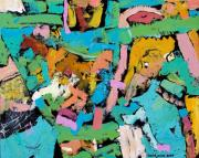 David Jones Paintings - Caribbean Confetti by David Jones