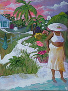 Tropical Sunset Originals - CariBbean HoMe by Teresa Grace Mock