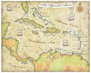 Sample - Caribbean Map - Good