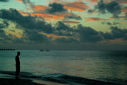 Morning Charm Prints - Caribbean Morning Print by Douglas Barnett