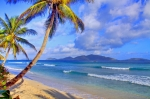 British Virgin Islands Prints - Caribbean Paradise Print by Scott Mahon