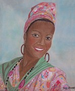 National Pastels Originals - Caribbean Pride by Joy Ballack