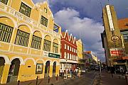 Businesses Prints - Caribbean Shopping District Print by Sven Brogren