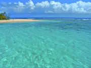 St Photos - Caribbean Water by Scott Mahon
