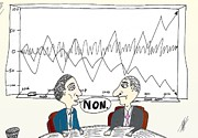 News Mixed Media - Caricature des trader Options Binaires by OptionsClick BlogArt