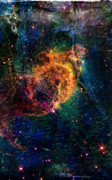 Carina Nebula Print by Andrea Barbieri