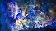 Galaxy Posters - Carinae Nebula Poster by Michael Tompsett