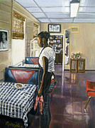 American Food Paintings - Caritas Village by Morris T Howard